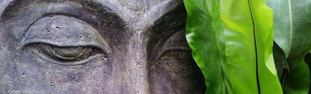 hypnose in tuebingen, Bild mit grünem Buddha